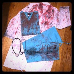 Zombie Doctor Costume!